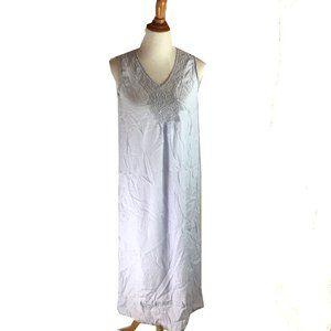 April Cornell Women's Blue Sleeveless Nightgown